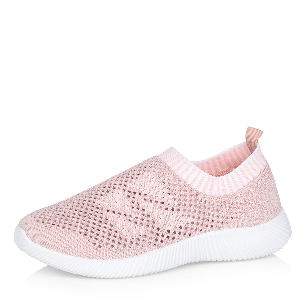 Розовые кроссовки без шнуровки фото