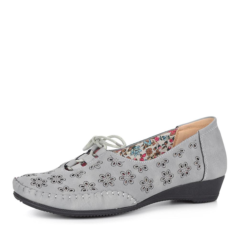 Белые туфли с декором
