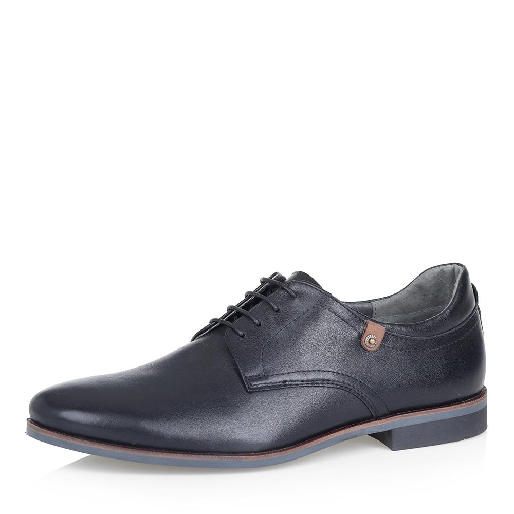 Черные полуботинки на шнуровке фото