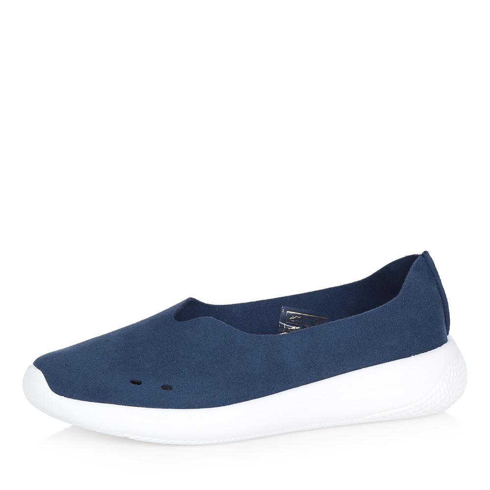 Синие комфортные туфли фото