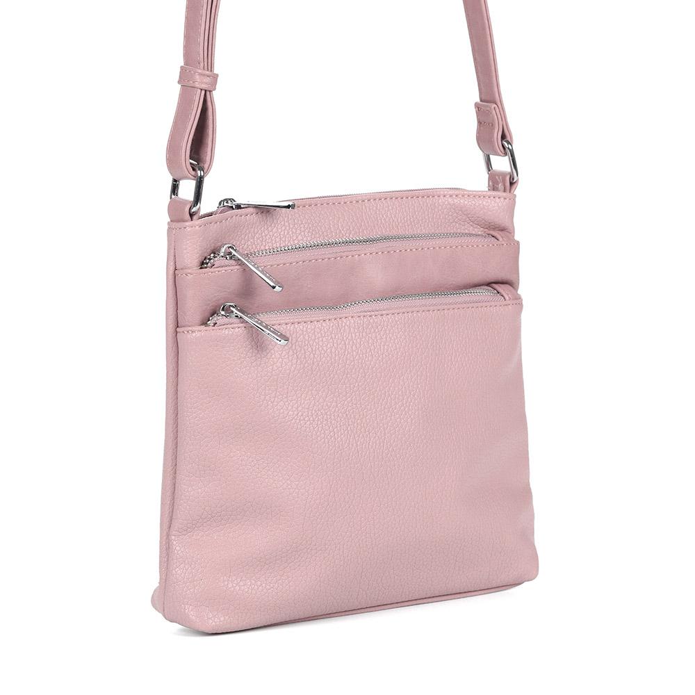 Розовая сумка на плечо