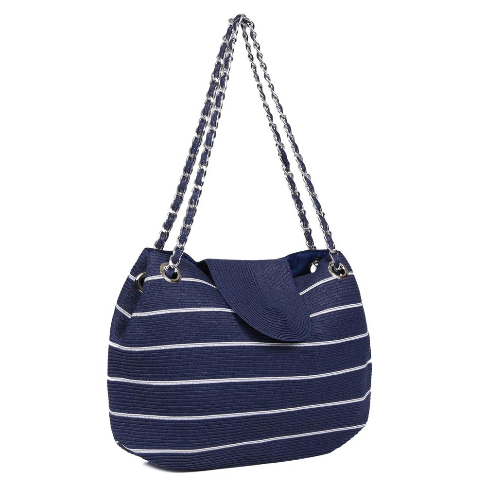 Пляжная сумка среднего размера в морском стиле фото