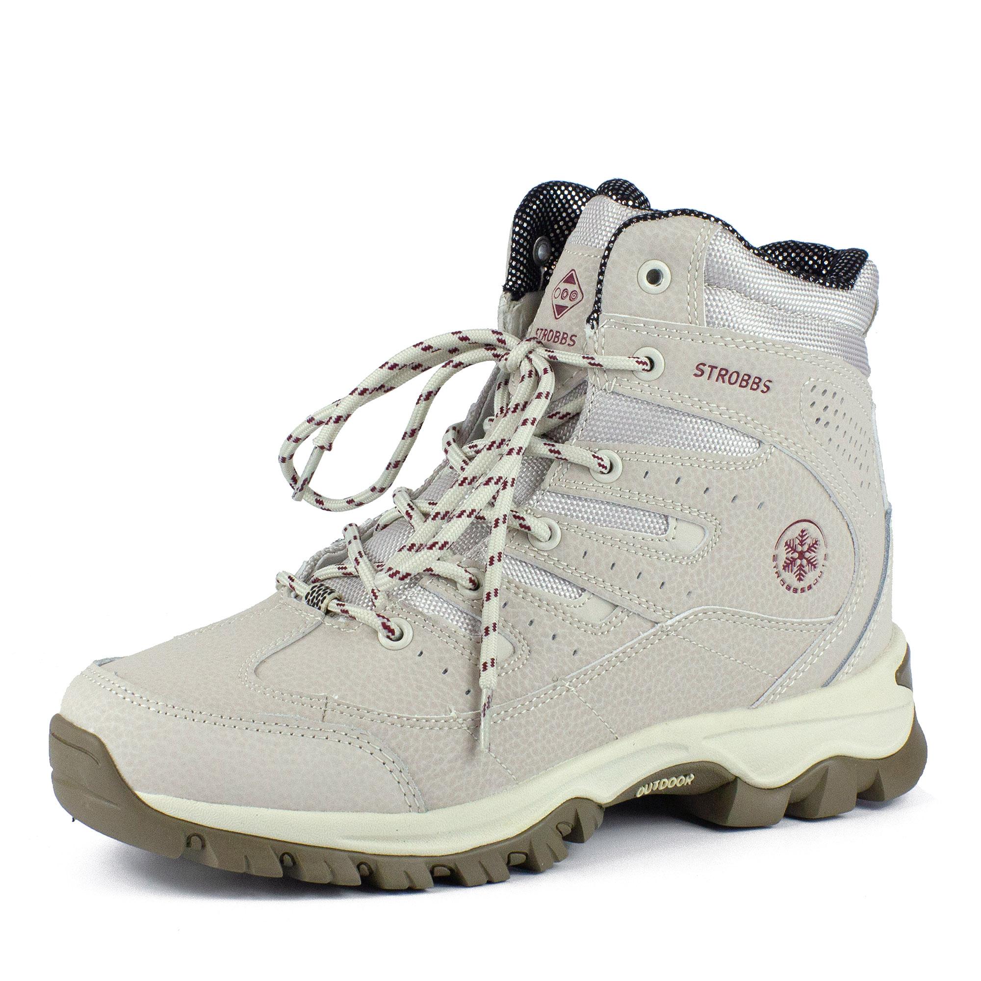 Треккинговые ботинки в белом цвете