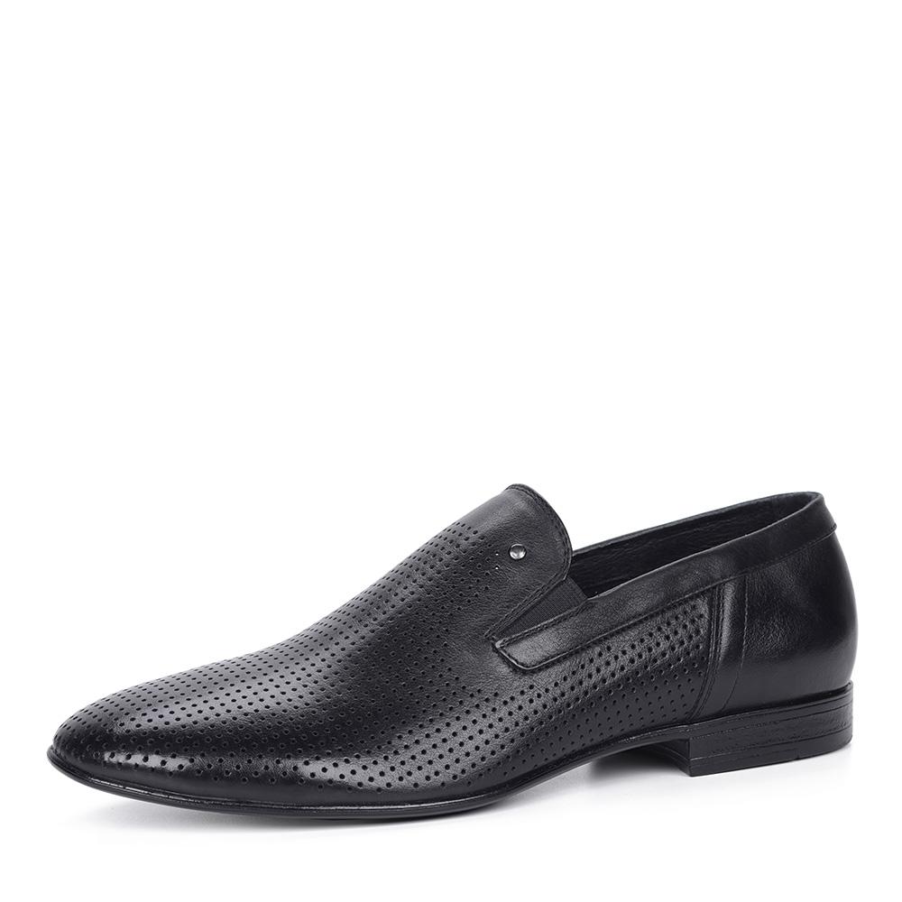 Черные полуботинки без шнуровки фото