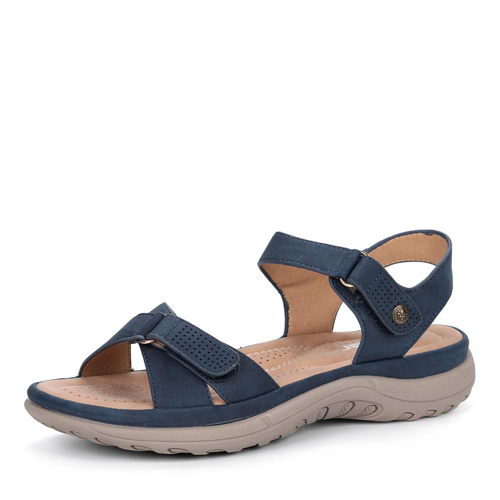 Синие комфортные сандалии фото