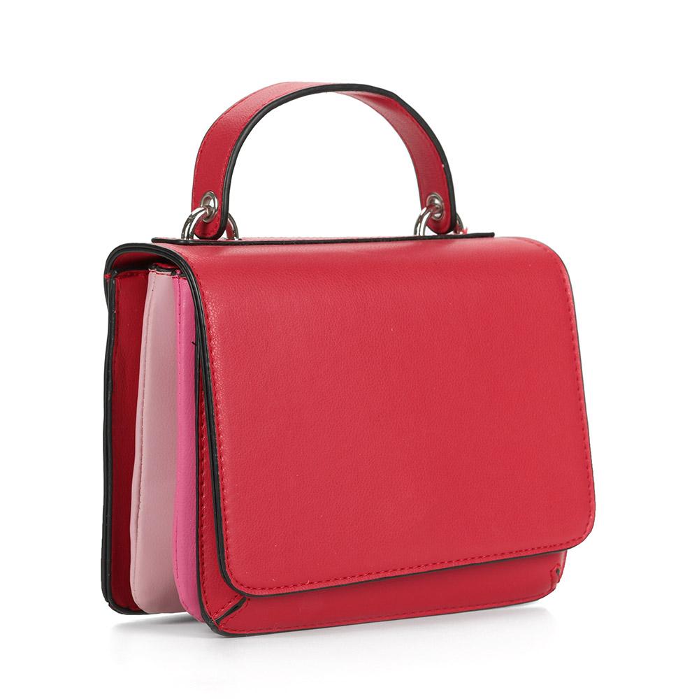 Красная сумка кроссбоди фото