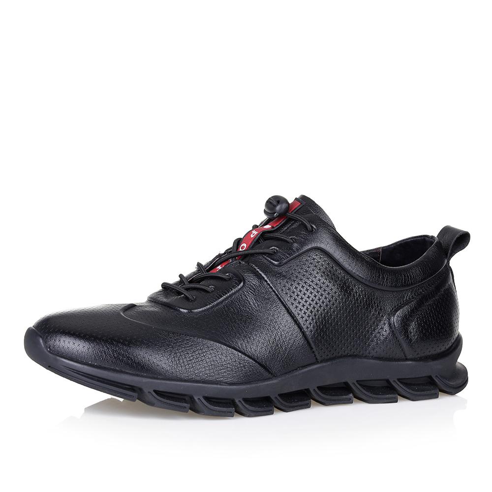 Черные кроссовки с оригинальной шнуровкой фото