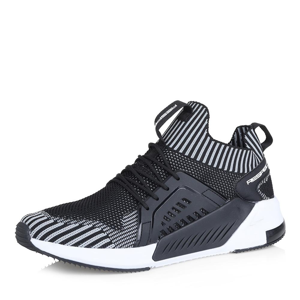 Черные кроссовки на утолщенной подошве фото