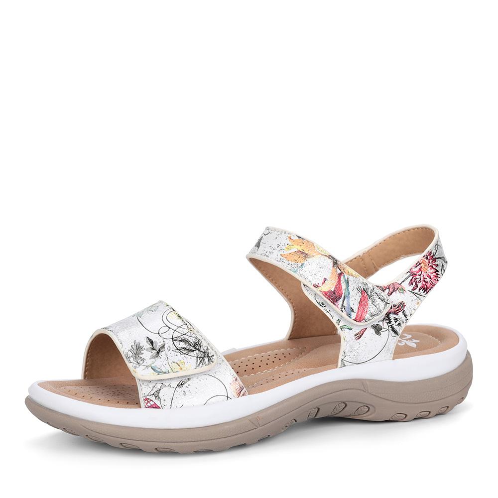Белые комфортные сандалии фото