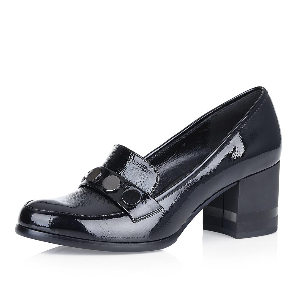Купить со скидкой Туфли на среднем каблуке в стиле лоферов