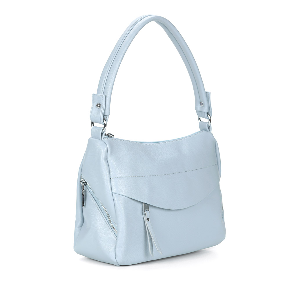 Голубая сумка на плечо