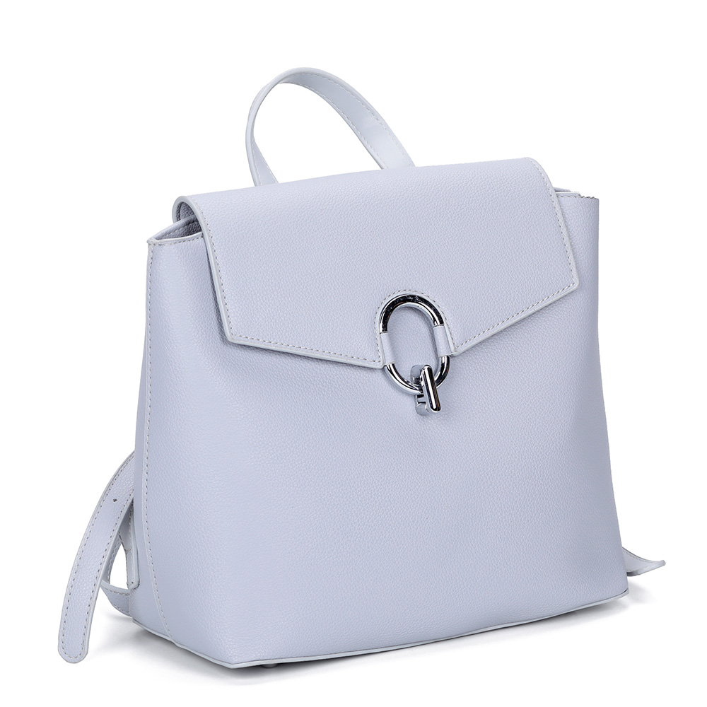 Фото - Голубой рюкзак с жесткой основой от Portofiano цвет сер.