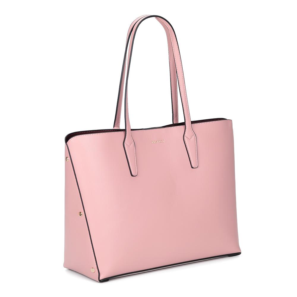 Розовая сумка трансформер фото