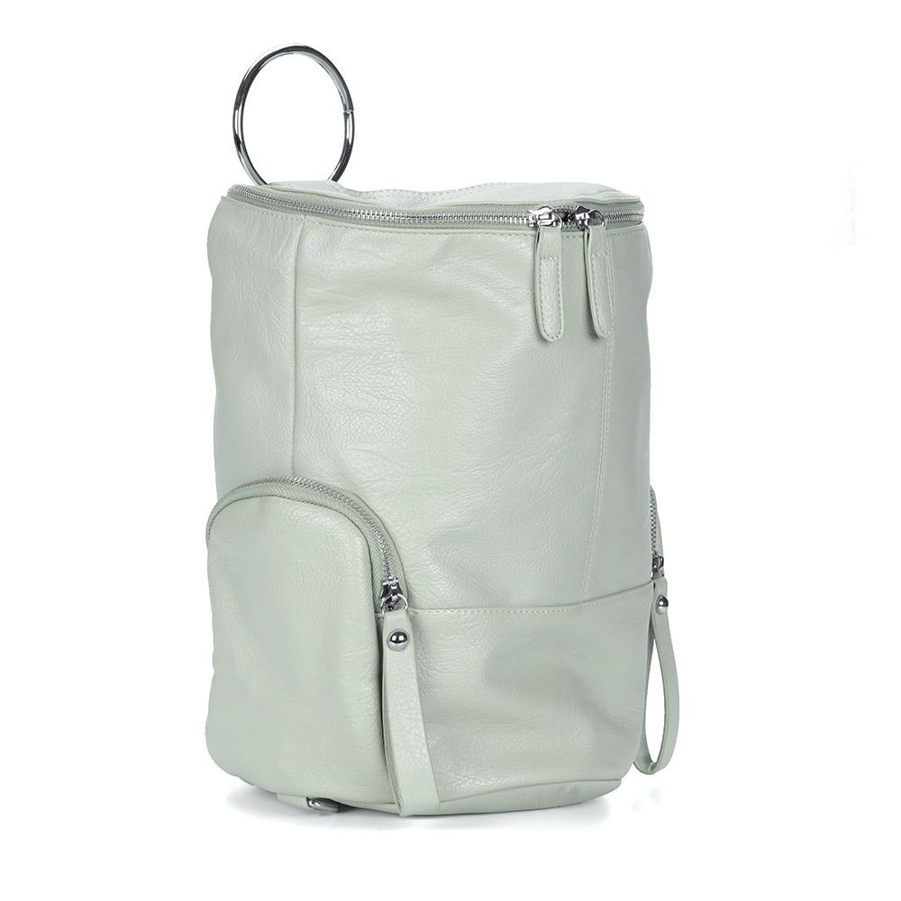 Зеленый рюкзак с регулируемыми ручками