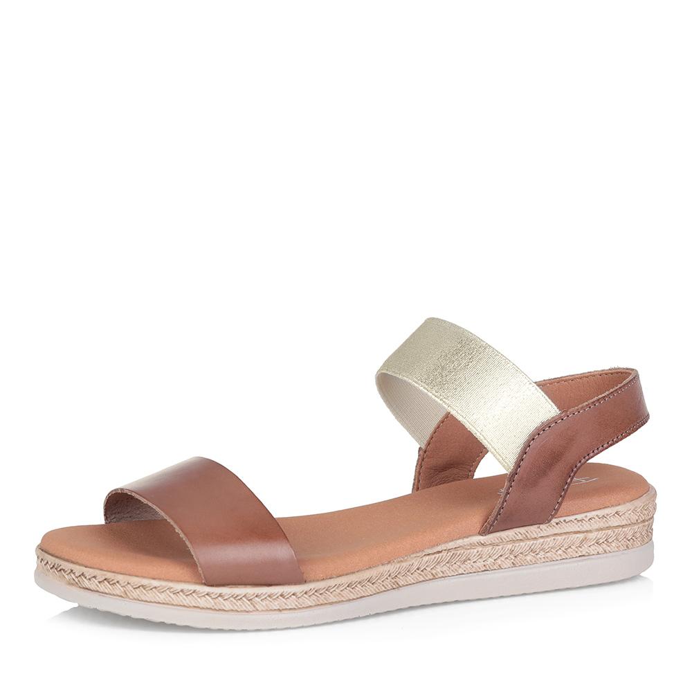Коричневые комфортные сандалии