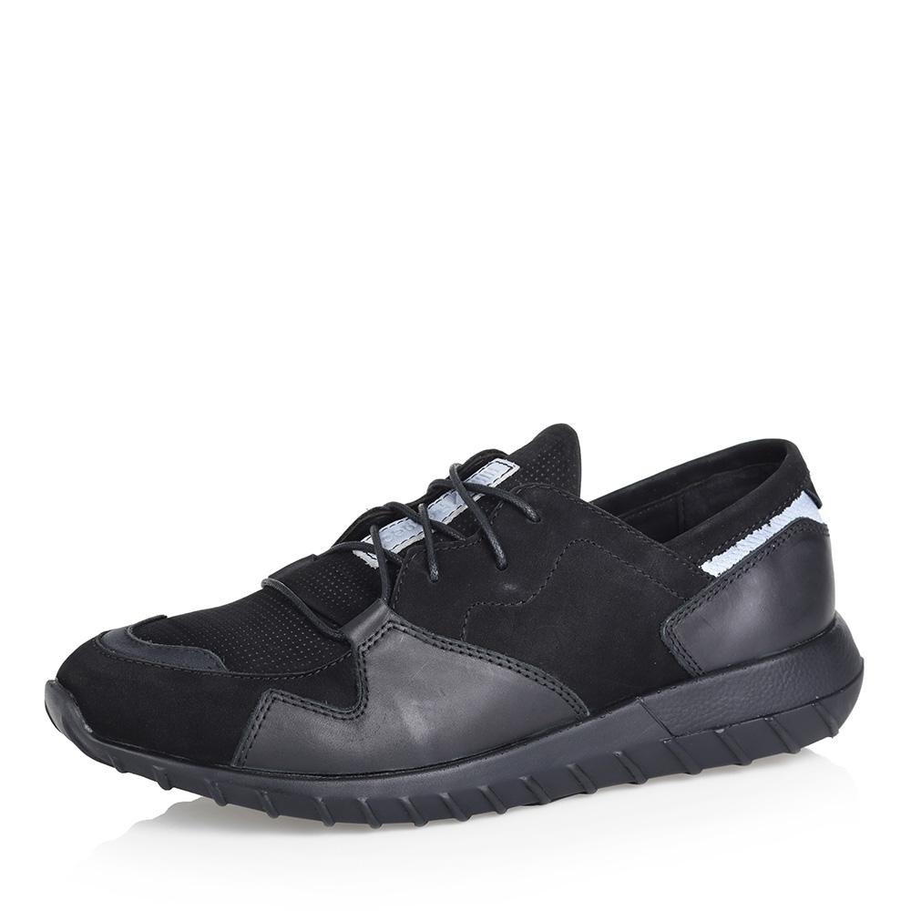 Черные кроссовки из нубука фото