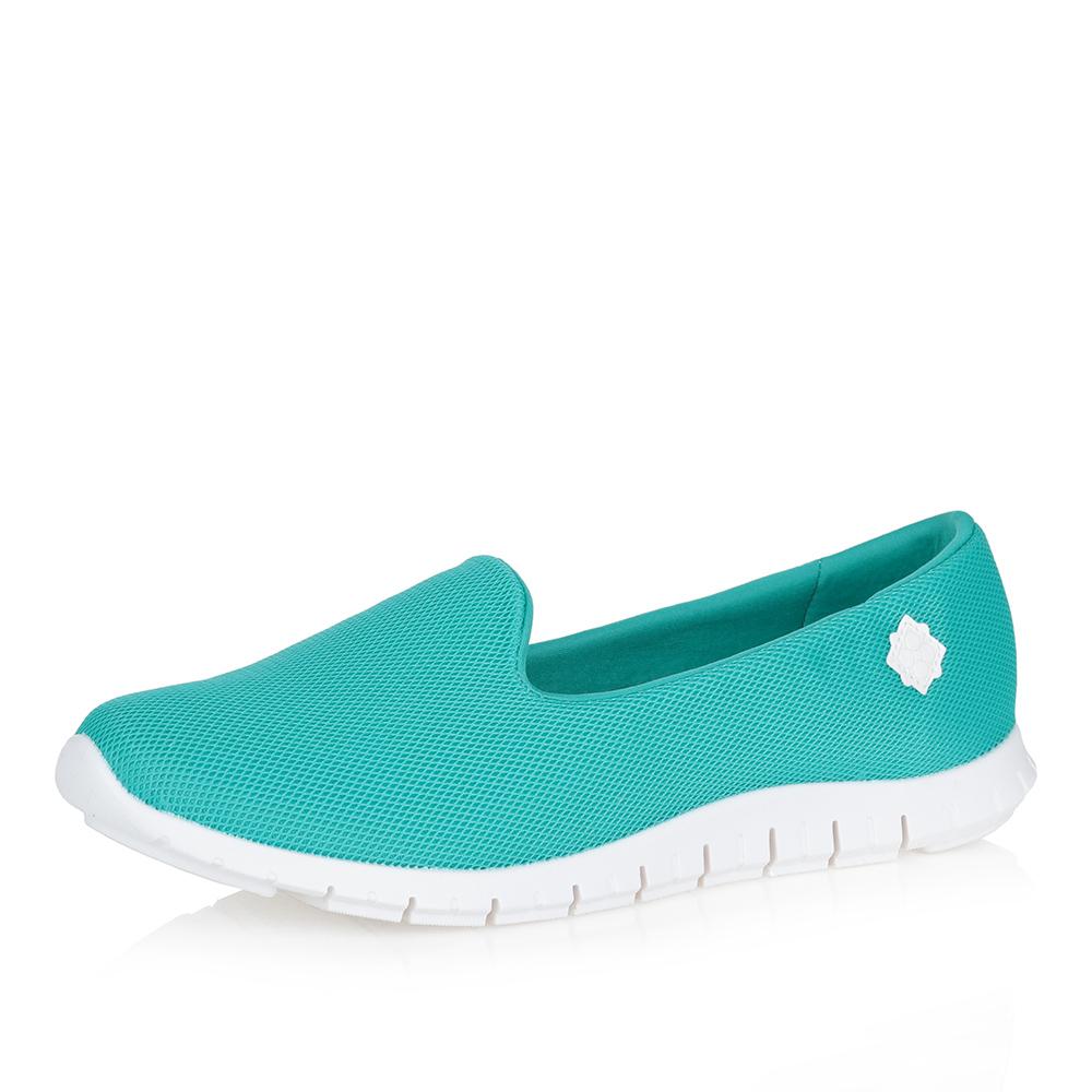 Бирюзовые туфли в спортивном стиле