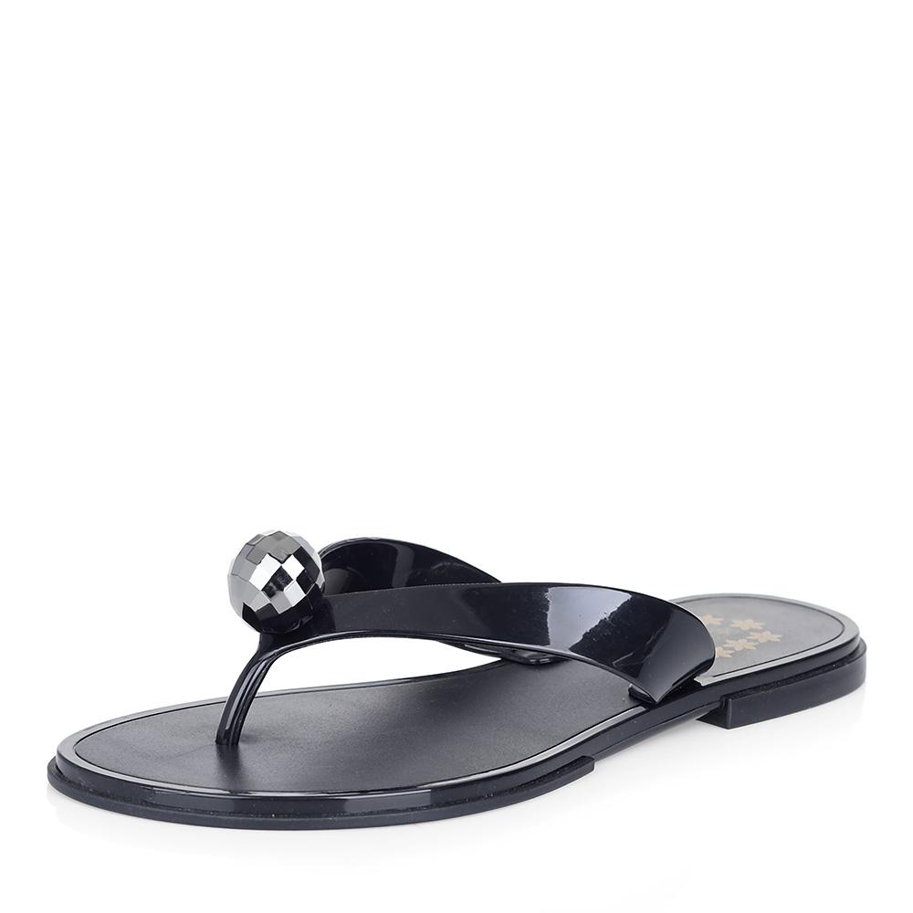 Черные пластиковые сланцы фото