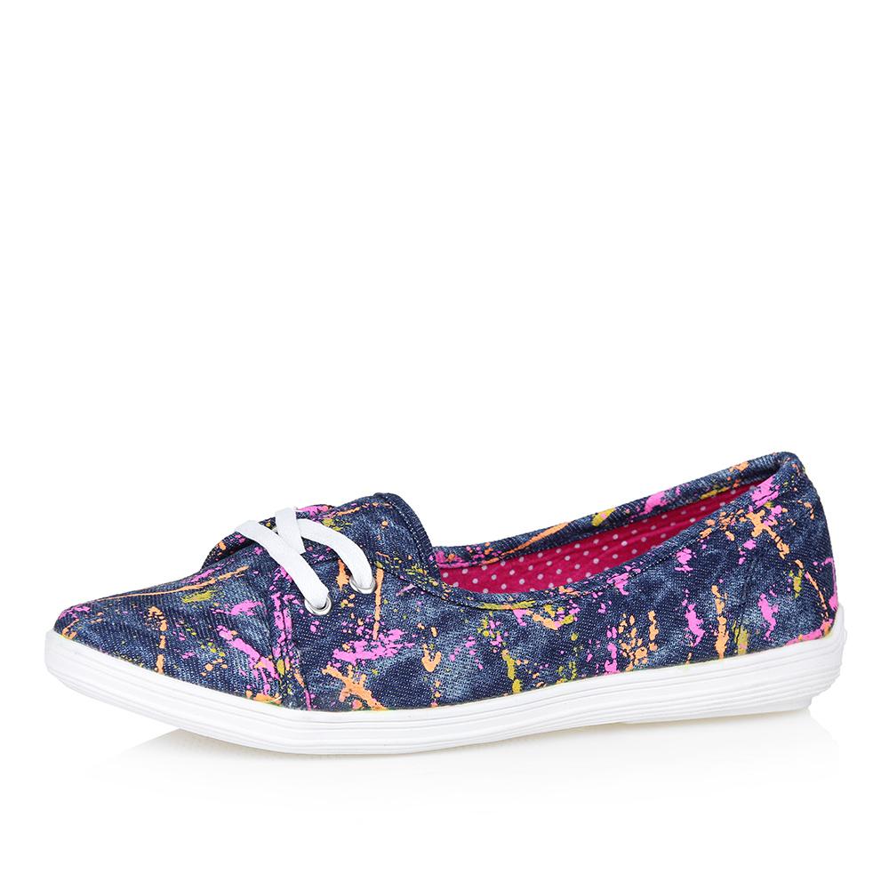 Туфли из текстиля в спортивном стиле