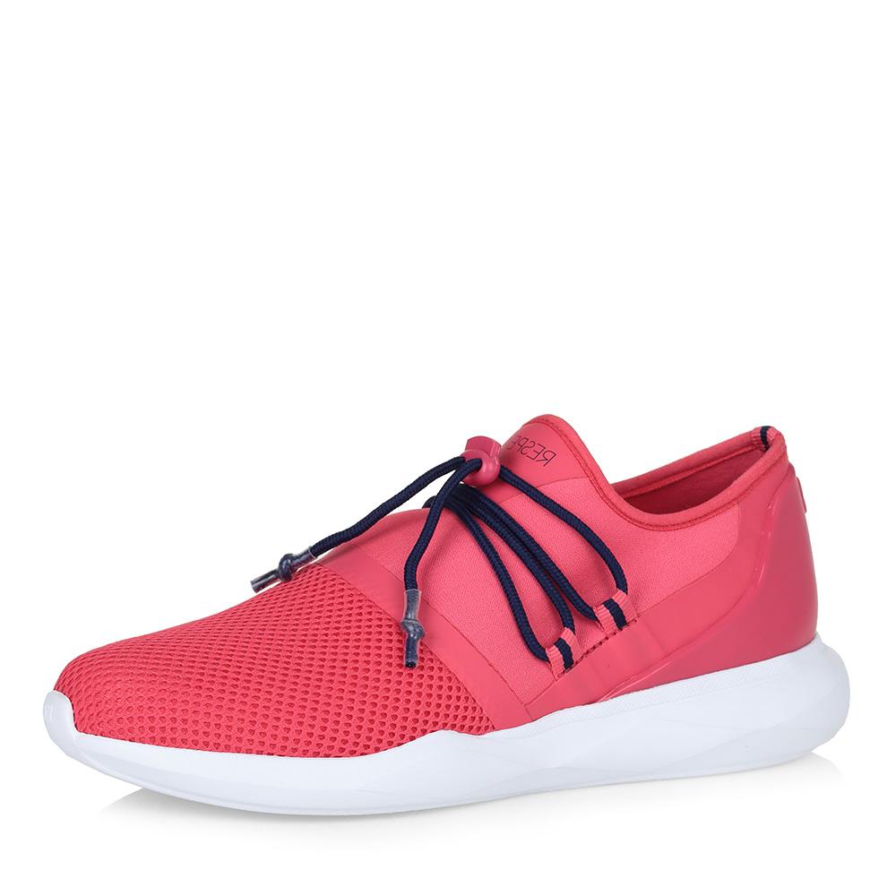 Розовые текстильные кроссовки без шнуровки фото