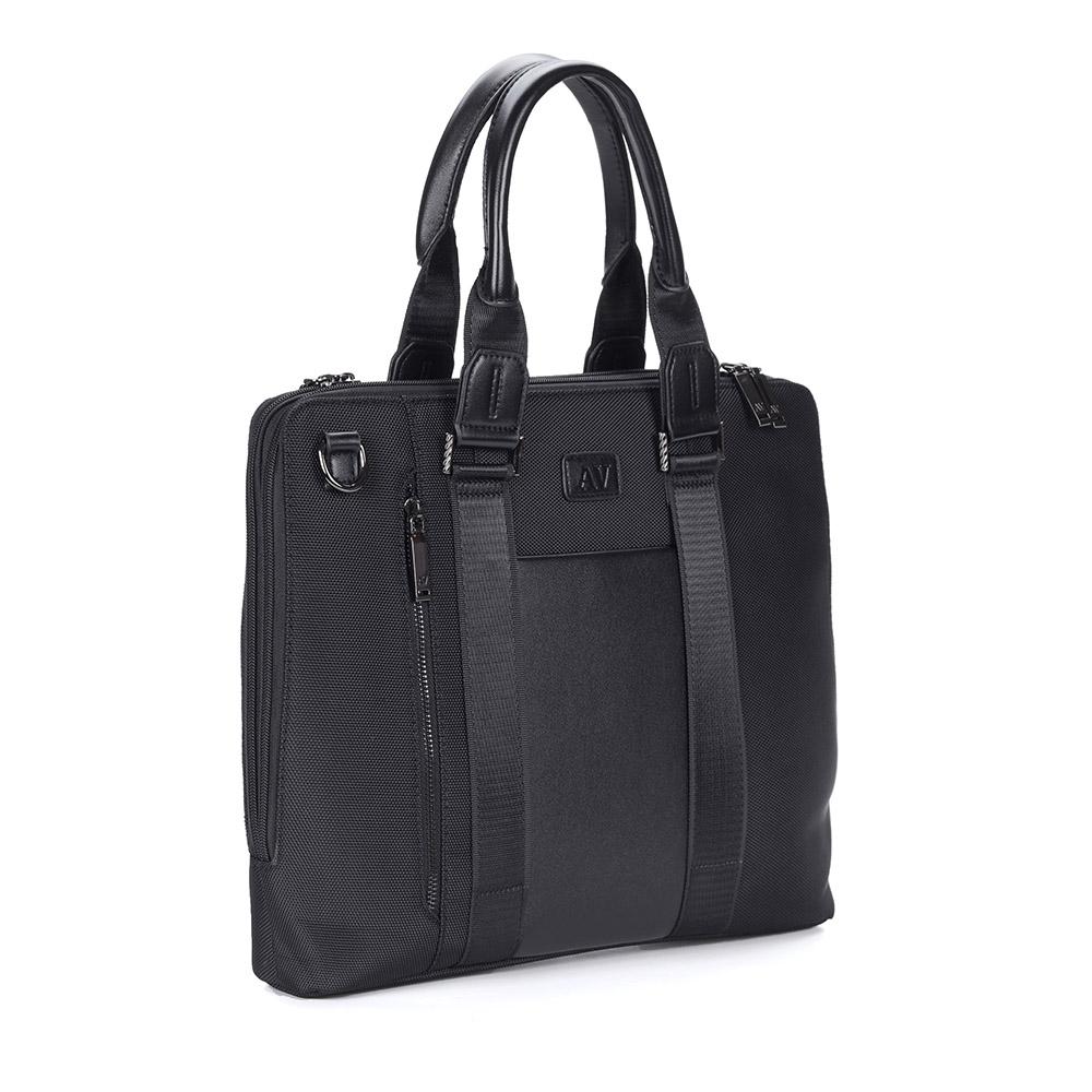 Черная сумка-портфель