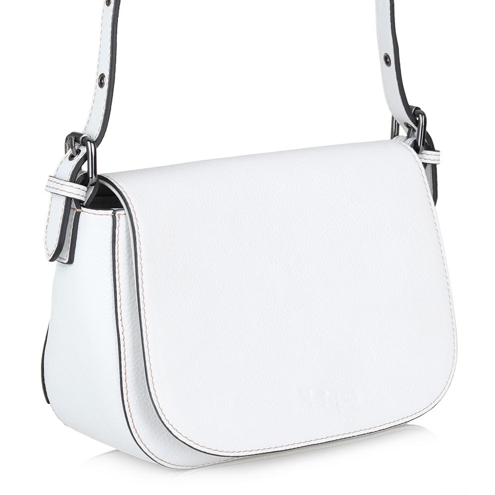 Белая сумка небольшого размера фото