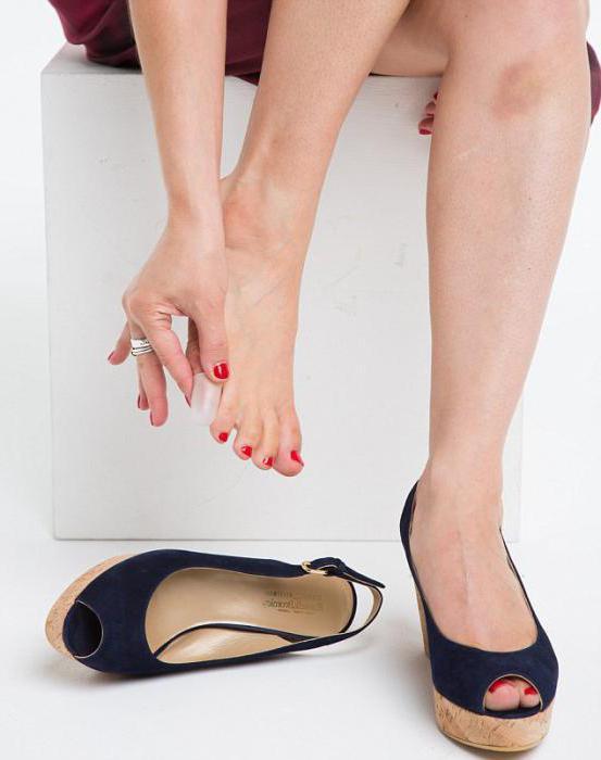 Обувь натирает пальцы