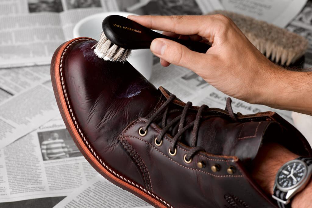 Общие советы по уходу за кожаной обувью